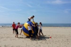 Teambuilding ballen